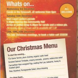 Christmas at Pennard & Three Cliffs Coffee Shop